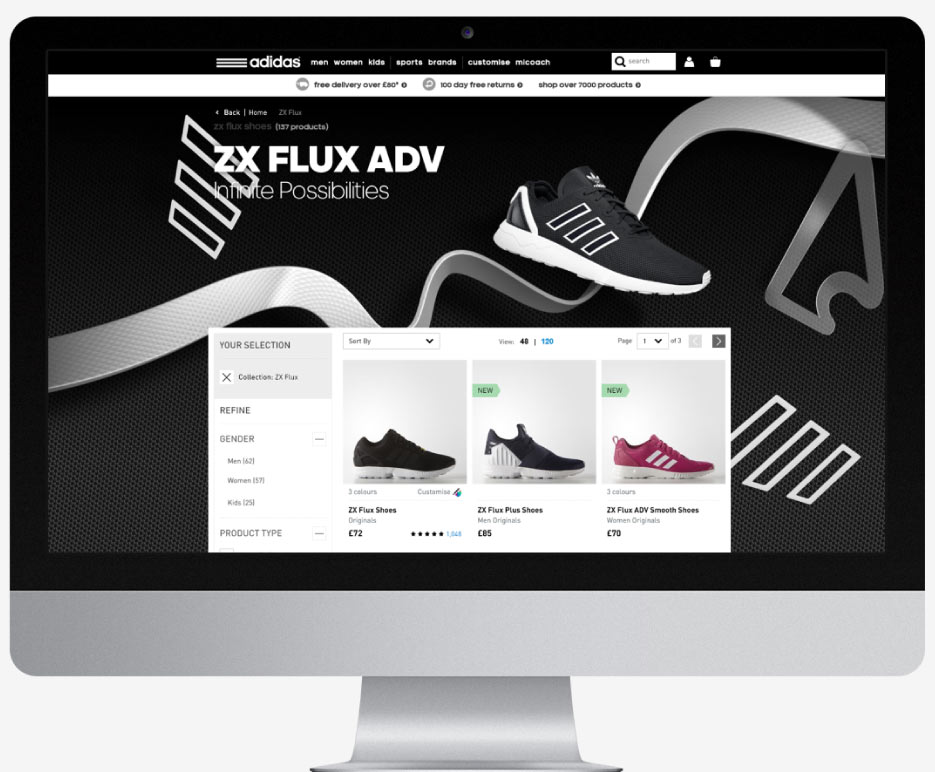 Adidas / ZX Flux ADV image 1